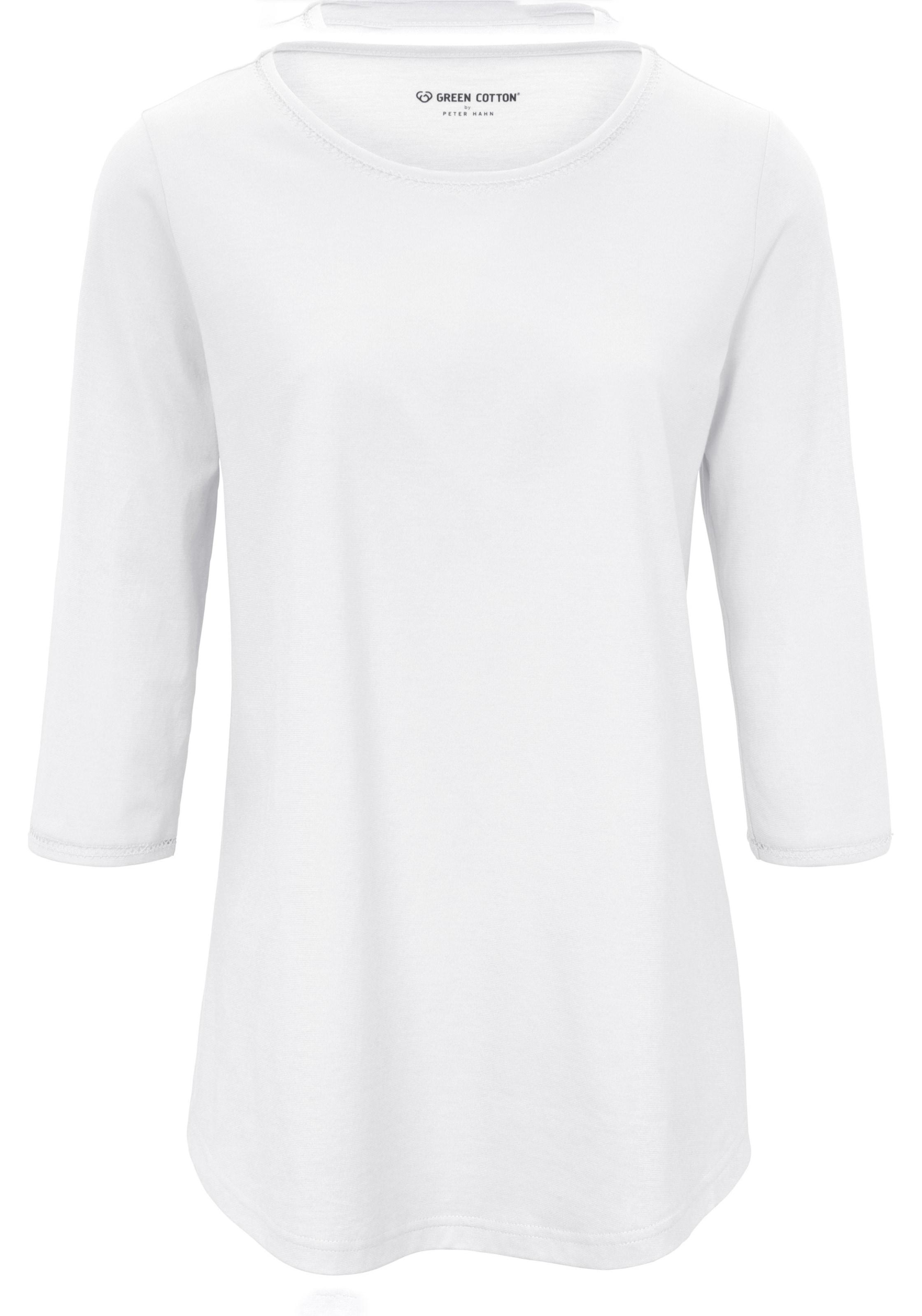 In Cotton Green Shirt Weiß Green 5lc3uJT1FK