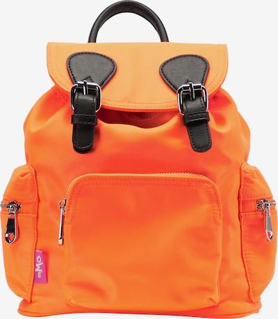 MYMO Rucksack in dunkelorange / schwarz, Produktansicht