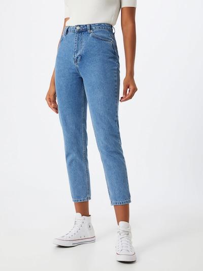 Trendyol Jeansy w kolorze niebieski denimm, Podgląd na modelu(-ce)