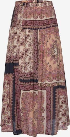 LASCANA Jupe en mélange de couleurs / rose ancienne, Vue avec produit