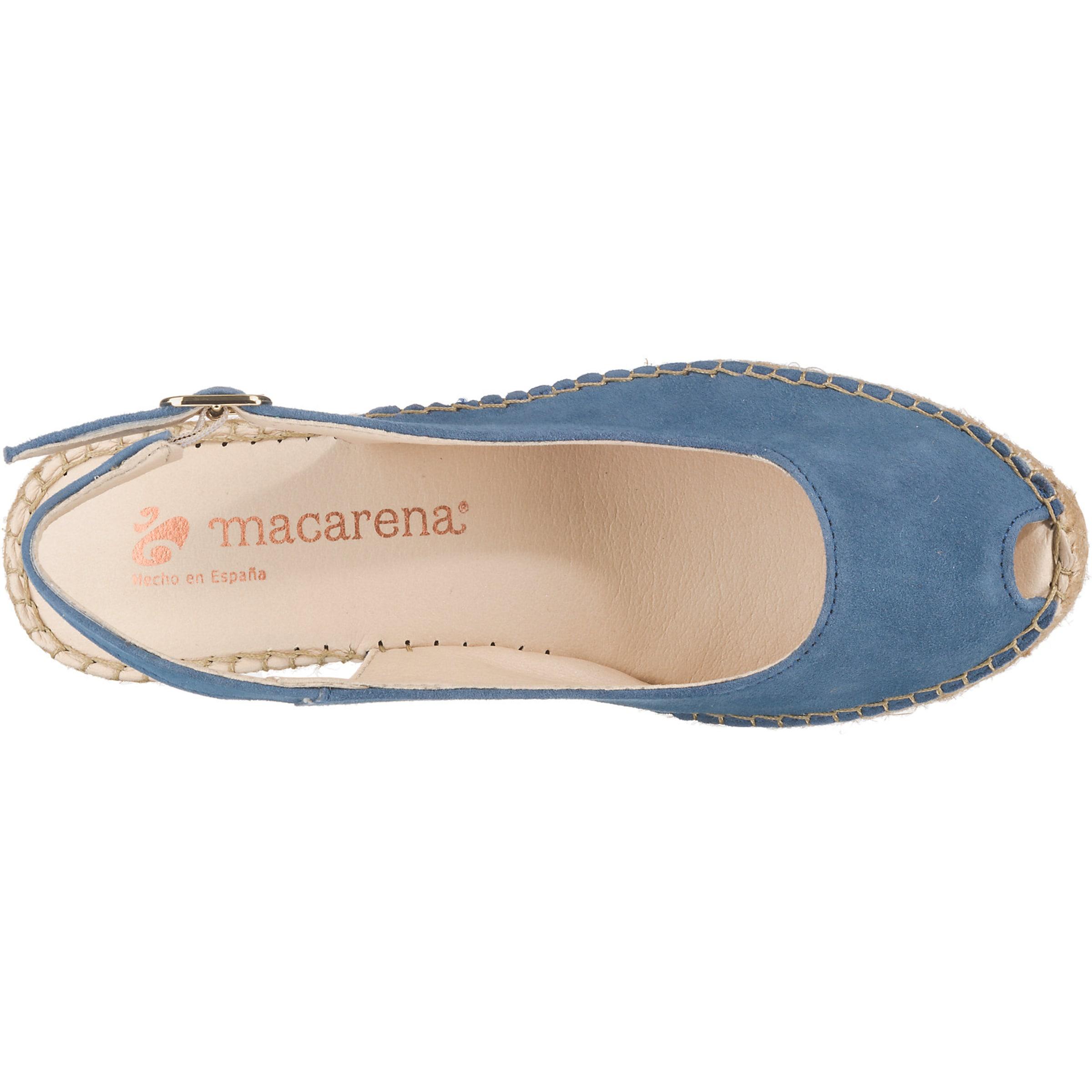 'ana Himmelblau 4' Macarena Sandaletten In nmNv0w8