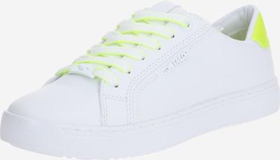 TOM TAILOR Sneaker in neongelb / weiß, Produktansicht