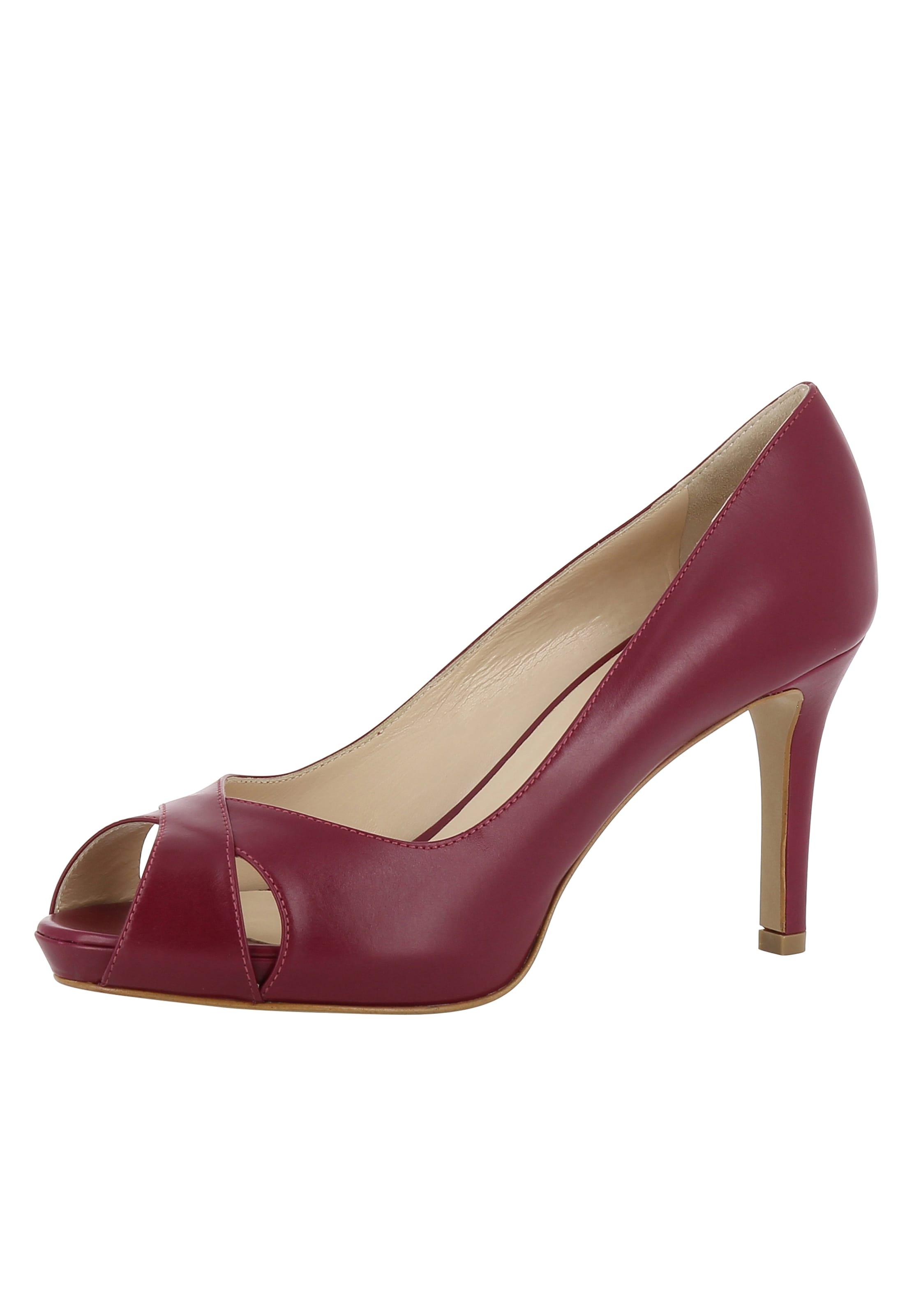 Haltbare Mode billige Schuhe EVITA | Peeptoe 'ELISA' Schuhe Gut getragene Schuhe