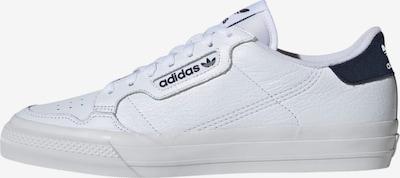 ADIDAS ORIGINALS Sneaker 'Continental Vulc' in schwarz / weiß, Produktansicht