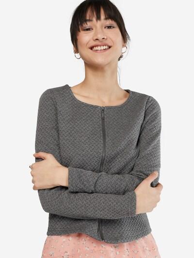 Blazer švarkas 'Vinaja' iš VILA , spalva - bazalto pilka, Modelio vaizdas