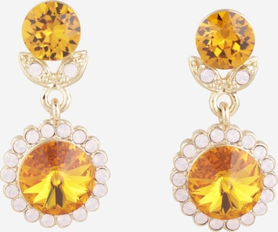 LILY AND ROSE Ohrhänger 'Jessie' in braun / gold, Produktansicht