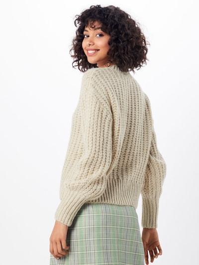 MOSS COPENHAGEN Sweter 'Heidi' w kolorze kremowym: Widok od tyłu