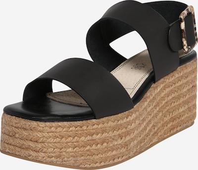 MTNG Sandale 'OBI' in sand / schwarz, Produktansicht