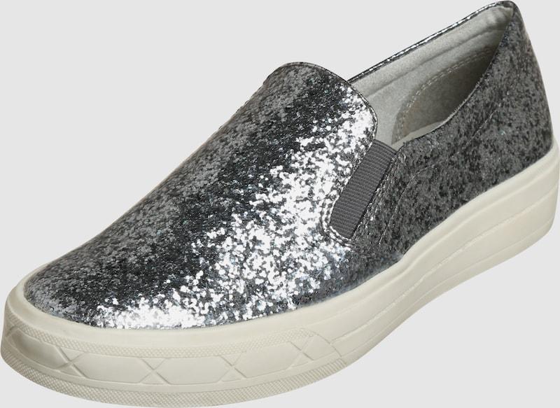 TAMARIS Slipper mit Glitzer Verschleißfeste billige Schuhe