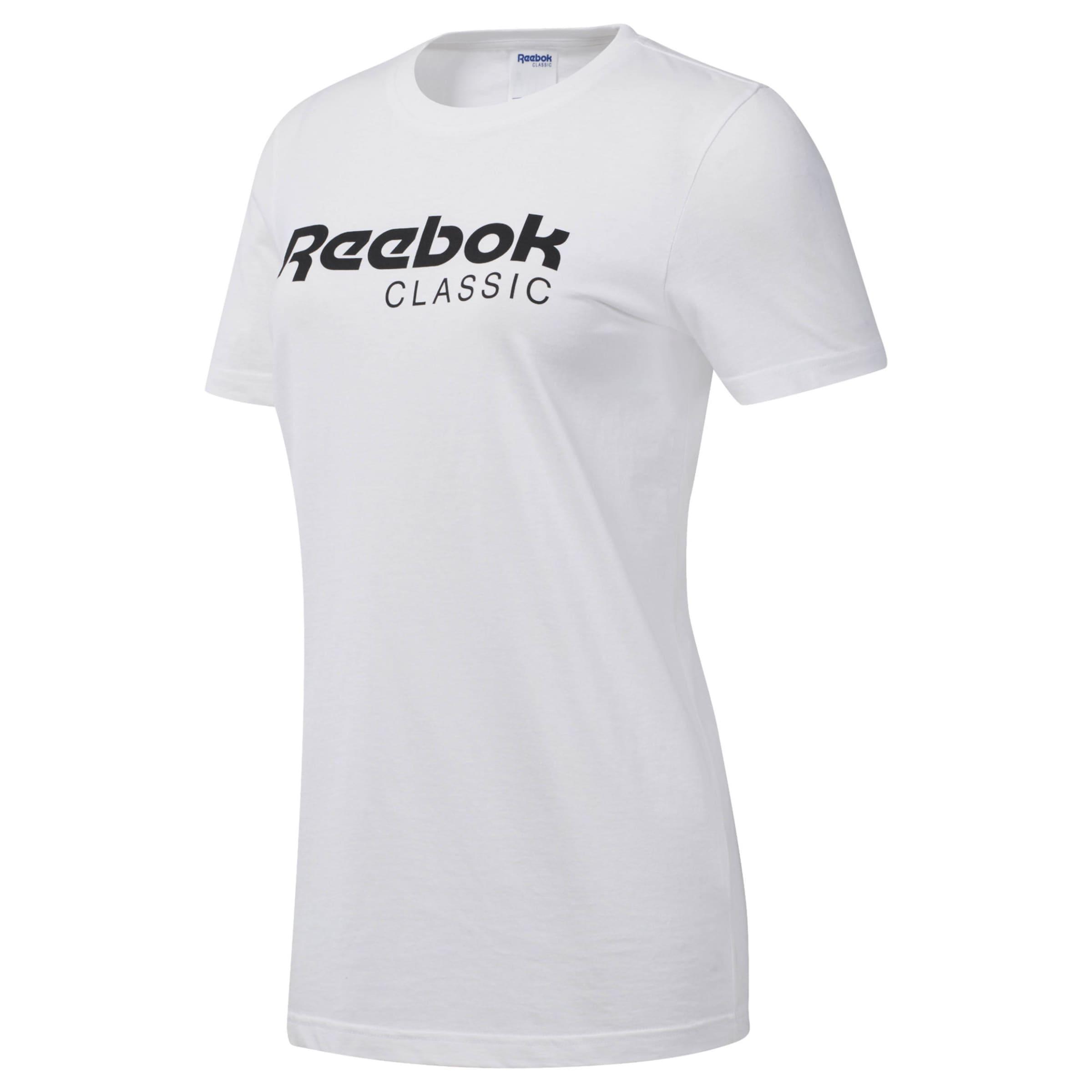 Reebok Classic shirt In T SchwarzWeiß MVUSzqp