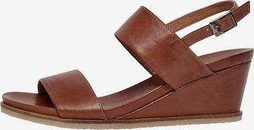 Bianco Sandale in Braun