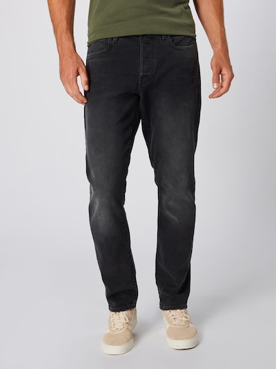 G-Star RAW Jeans '3301 Tapered' in de kleur Black denim: Vooraanzicht