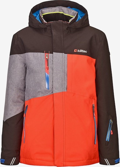 KILLTEC Skijacke 'Laurin' in orange, Produktansicht