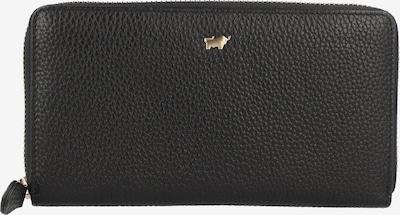 Braun Büffel Portemonnee in de kleur Zwart, Productweergave