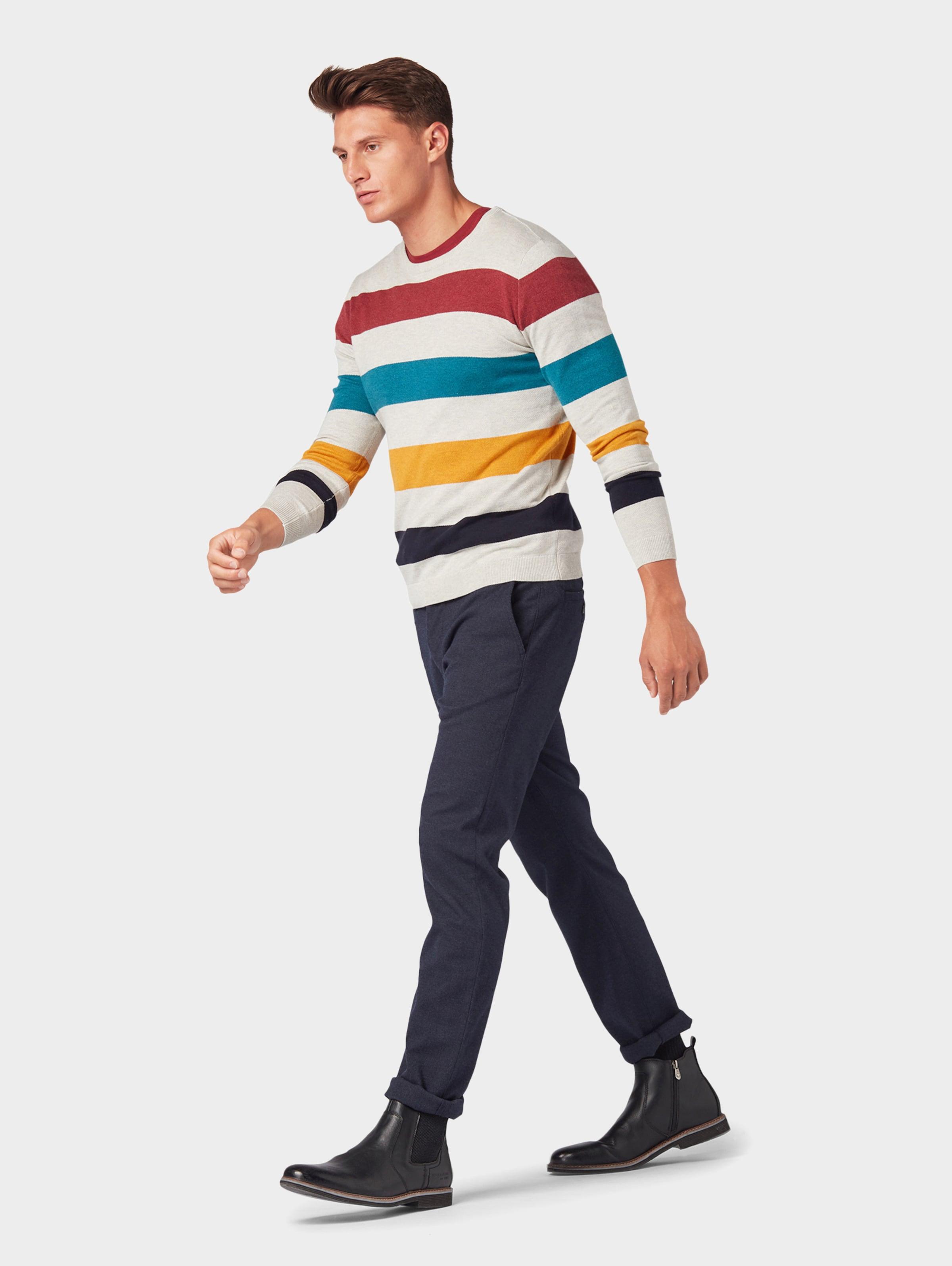 Pullover Tom Pullover Tom Mischfarben Tailor Tailor In gYbf7v6y