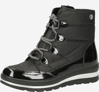 CAPRICE Sneaker in schwarz / weiß, Produktansicht