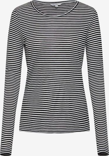 mbym Koszulka 'Lilita' w kolorze kremowy / czarnym, Podgląd produktu
