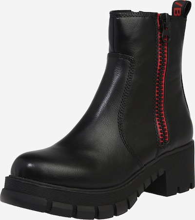 BUFFALO Stiefelette in rot / schwarz, Produktansicht