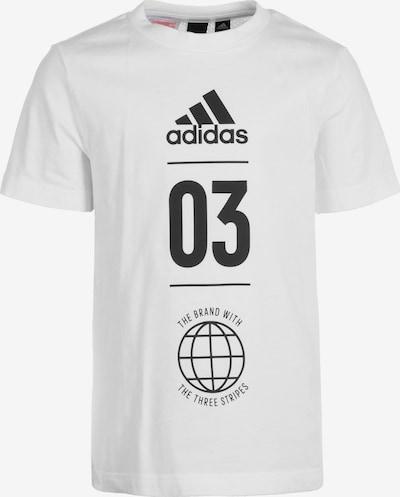 ADIDAS PERFORMANCE Trainingsshirt 'Sport ID' in schwarz / weiß, Produktansicht