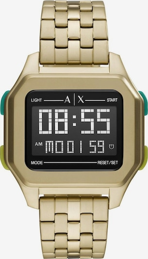 ARMANI EXCHANGE ARMANI EXCHANGE Digitaluhr »AX2950« in gold, Produktansicht