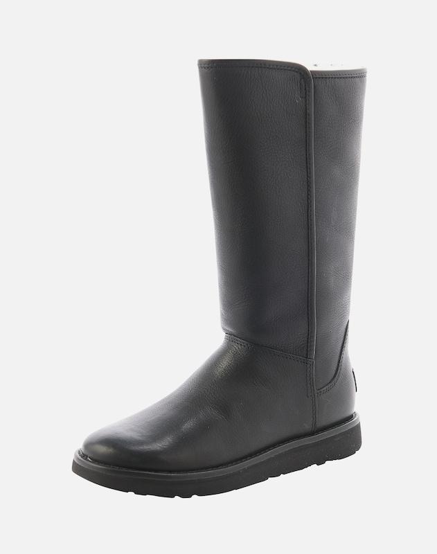 77a52437b88c UGG Snehule  Abree II Leather  vo farbe čierna