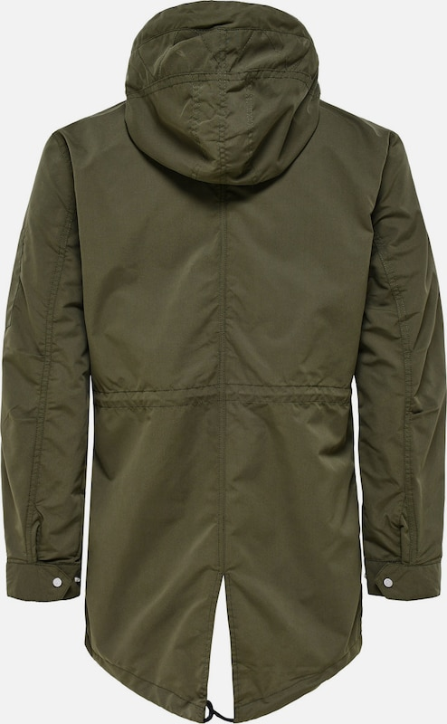 Only & Sons Einfarbiger Parka
