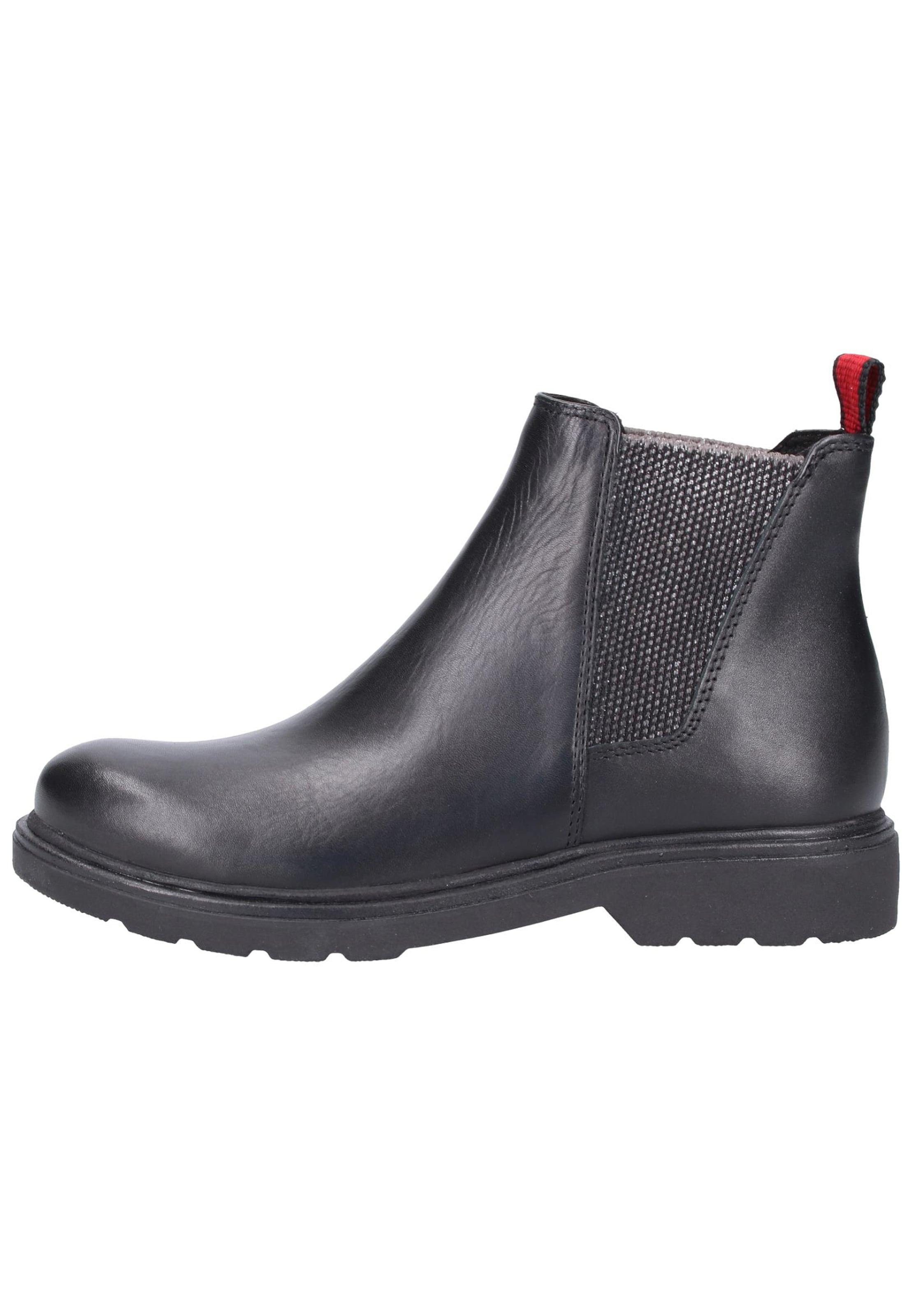 Marco Chelsea RougeNoir En Boots Tozzi cKFTl1J