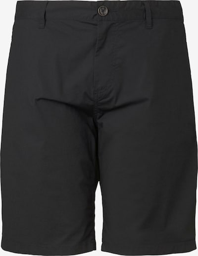 TOM TAILOR Men Plus Hosen & Chino Josh Regular Slim Chino Shorts in schwarz, Produktansicht