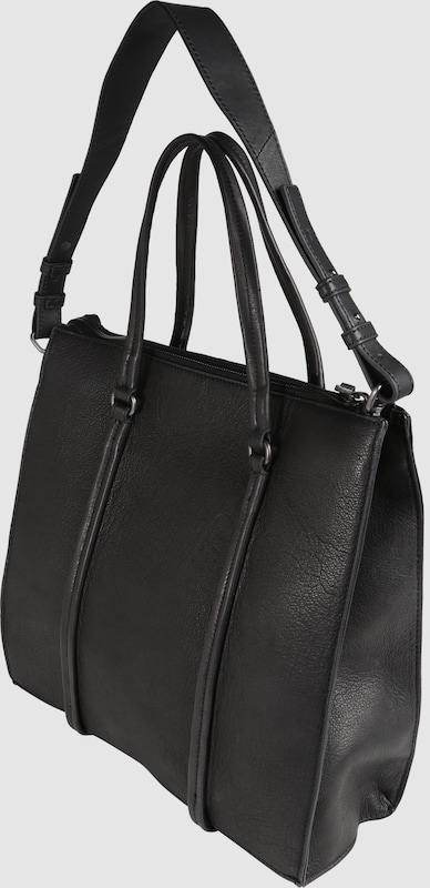 Marc O'Polo Schultertasche 'Cube washed'