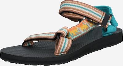 Sandale TEVA pe albastru / galben, Vizualizare produs