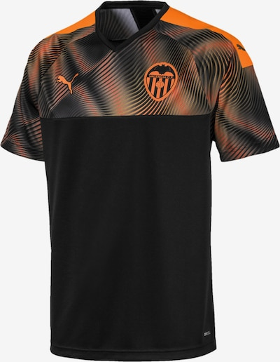 PUMA Auswärtstrikot 'Valencia CF' in orange / schwarz, Produktansicht