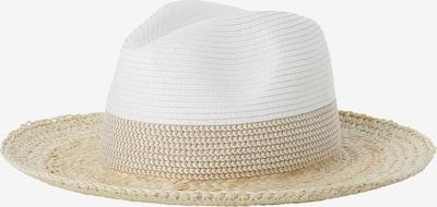 Marie Lund Hut in beige / weiß, Produktansicht