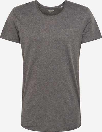 JACK & JONES T-Shirt 'Bas' in dunkelgrau, Produktansicht