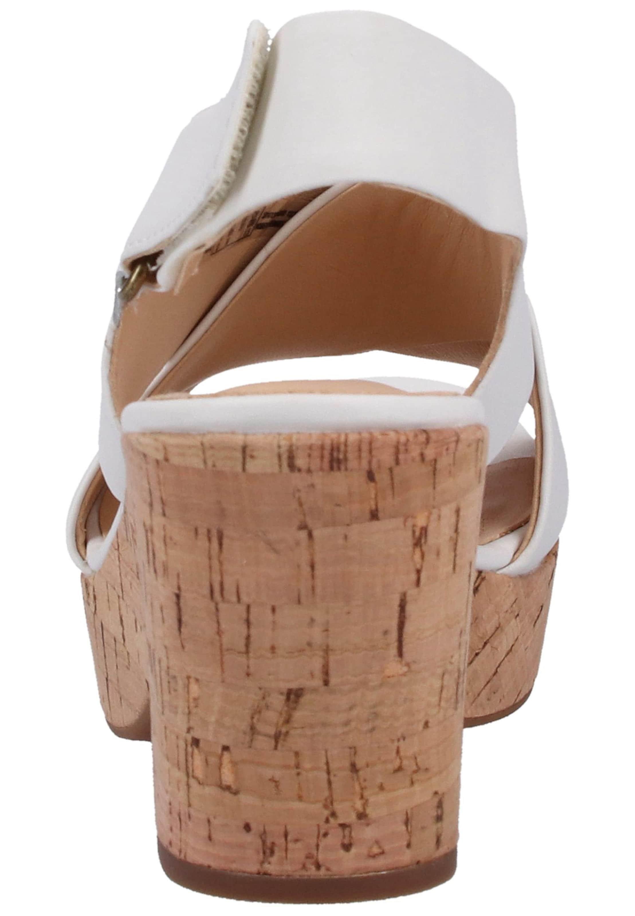 Clarks Clarks Sandalen In BraunWeiß Sandalen In qVSzpUM