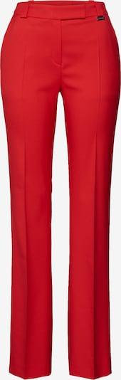 HUGO Pantalon à plis 'Hularis' en rouge, Vue avec produit