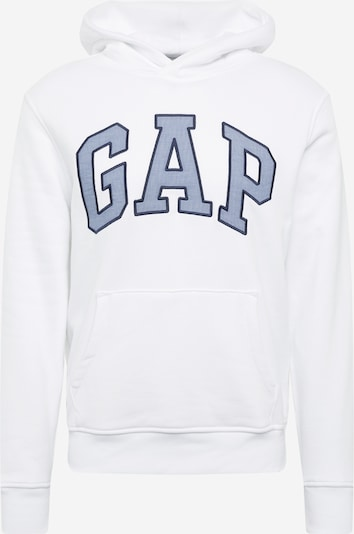 GAP Sweatshirts 'CHAMBRAY' in weiß, Produktansicht