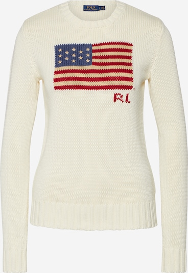POLO RALPH LAUREN Sweater in cream, Item view