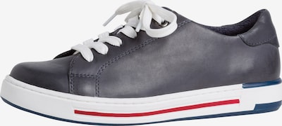 JANA Sneaker in dunkelblau / rot / weiß, Produktansicht