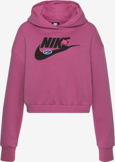 Nike Sportswear Sweatshirt in pink / schwarz, Produktansicht