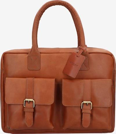 Burkely Aktentas 'Vintage Finn' in de kleur Cognac, Productweergave