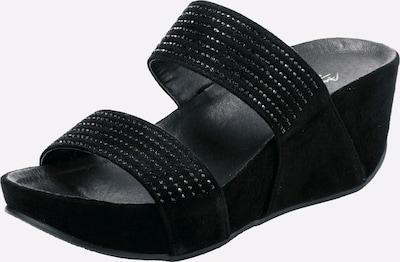 ANDREA CONTI Pantolette in schwarz, Produktansicht
