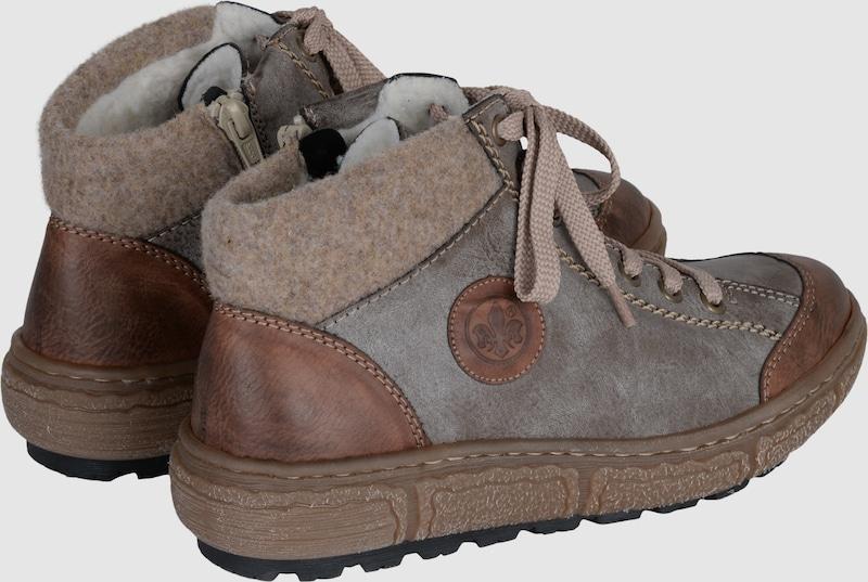 RIEKER Sneaker mit Fleece-Fütterung