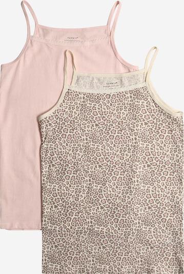 NAME IT Unterhemden 'STRAP' in beige / rosa, Produktansicht