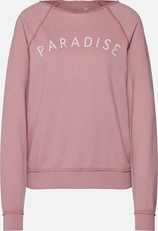Juvia Sweatshirts 'Fleece Fade Out Out Out Sweater 'PARADISE'' in rosé  Großer Rabatt 1a877c