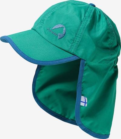 FINKID Sonnenhut in blau / grün, Produktansicht