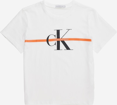 Calvin Klein Jeans Tričko 'MONOGRAM' - bílá, Produkt