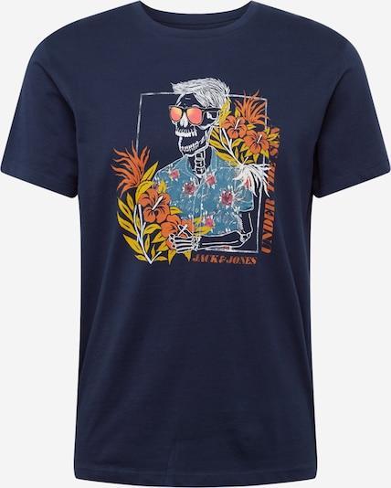 JACK & JONES Shirt in Navy / Gemengde kleuren WpuHJ5od