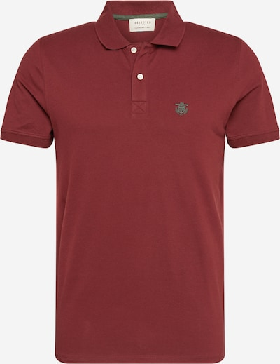 SELECTED HOMME Poloshirt 'Daro' in weinrot, Produktansicht