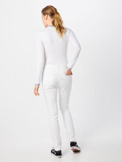 LEVI'S Jeans '721' in de kleur Wit: Achteraanzicht