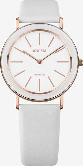 JOWISSA Quarzuhr 'Alto' Swiss Ladies Watch in rosegold / weiß, Produktansicht